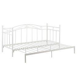 Bílá rozkládací postel Actona Bavo,80 -160x200cm