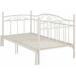 Bílá rozkládací postel Støraa Bibi, 90x200cm