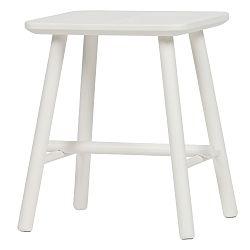 Bílá stolička De Eekhoorn Butt