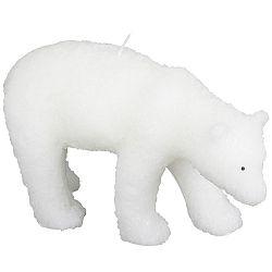 Bílá svíčka ve tvaru ledního medvěda Le Studio Polar Bear