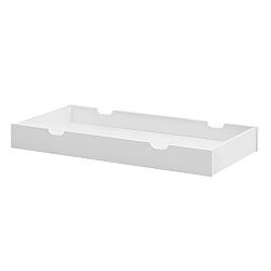 Bílá zásuvka pod postýlku Pinio Moon, 60x120cm