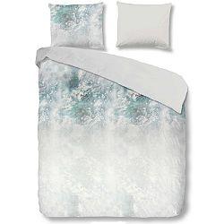 Bílé bavlněné povlečení na jednolůžko Good Morning Whitney,140x200cm