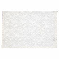 Bílé bavlněné prostírání Green Gate Celine, 40 x 50 cm