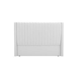 Bílé čelo postele Cosmopolitan Design Dallas, šířka 140cm