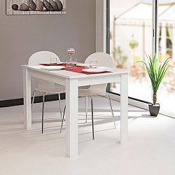 Bílý jídelní stůl Symbiosis Jaune