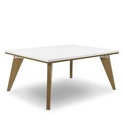 Bílý konferenční stolek SKANDICA Jorgen