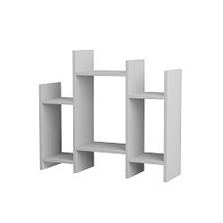 Bílý odkládací stolek Homitis Potti