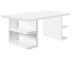 Bílý pracovní stůl TemaHome Multi, 160 cm