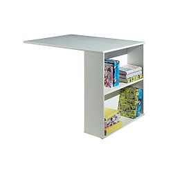 Bílý přídavný stolek k posteli Vipack Highsleeper