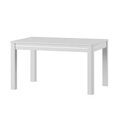 Bílý rozkládací jídelní stůl Szynaka Meble Sunny