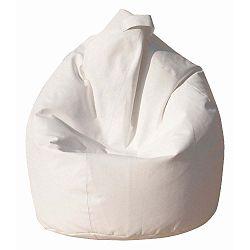 Bílý sedací vak Evergreen House Bag Eco
