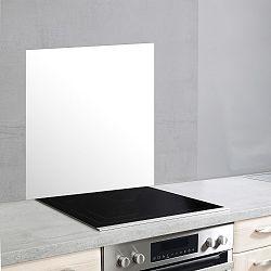 Bílý skleněný kryt na zeď u sporáku Wenko, 70x60cm