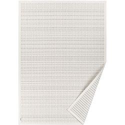 Bílý vzorovaný oboustranný koberec Narma Esna, 70x140cm
