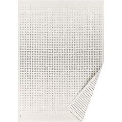 Bílý vzorovaný oboustranný koberec Narma Helme, 140x200cm