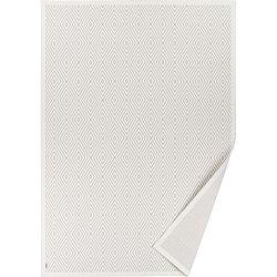 Bílý vzorovaný oboustranný koberec Narma Kalana, 70x140cm