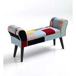 Čalouněná lavice Tomasucci Kaleidos, 54x100x30cm