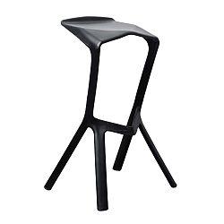 Černá barová stolička Evergreen House Drink