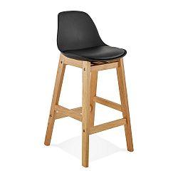 Černá barová židle Kokoon Elody, výška86,5cm