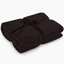 Černá deka z mikrovlákna DecoKing Henry, 170x210cm