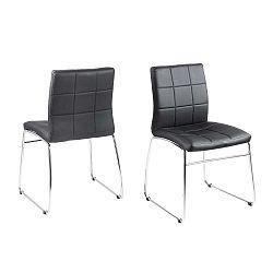 Černá jídelní židle Actona Hot