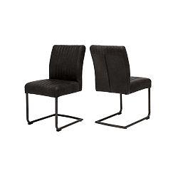 Černá jídelní židle Canett Pitou Uriala
