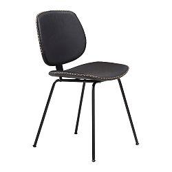 Černá jídelní židle DAN–FORM Prime