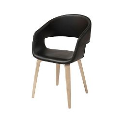 Černá jídelní židle Interstil Nova Nature Duro