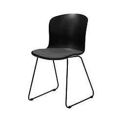Černá jídelní židle Interstil Story Duro