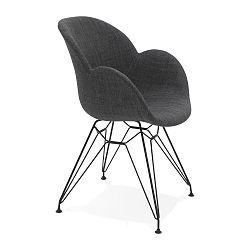 Černá jídelní židle Kokoon Equium