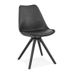 Černá jídelní židle Kokoon Momo