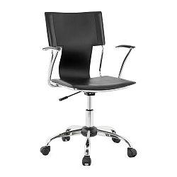 Černá kancelářská židle Kokoon Oxford