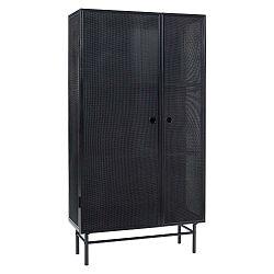 Černá skříň Hübsch Cabinet