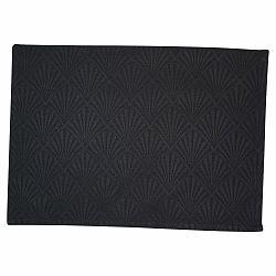 Černé bavlněné prostírání Green Gate Celine, 40 x 50 cm