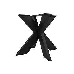 Černé kovové podnoží kjídelnímu stolu HMS collection, ⌀90cm