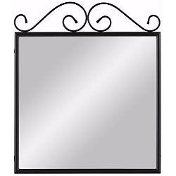 Černé kovové zrcadlo Støraa Isabelle
