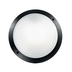 Černé venkovní nástěnné/stropní osvětlení Crido Consulting Lumino