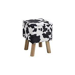 Černobílá stolička Actona Maren
