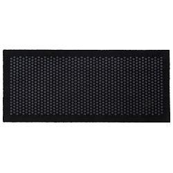 Černošedá rohožka Tica Copenhagen Dot, 67x150cm
