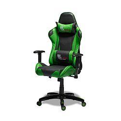 Černozelená kancelářská židle Knuds Gaming