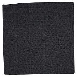 Černý bavlněný ubrousek Green Gate Corine, 40 x 40 cm