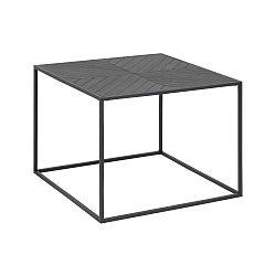 Černý konferenční stolek Actona Orizs, 60x60cm