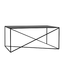 Černý konferenční stolek Custom Form Memo, šířka100cm