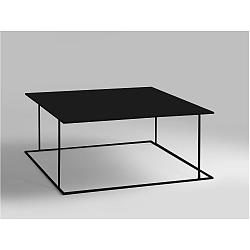 Černý konferenční stolek Custom Form Walt, 80x80cm