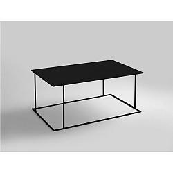 Černý konferenční stolek Custom Form Walt, délka100cm