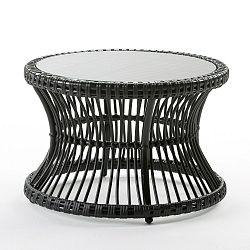 Černý konferenční stolek Thai Natura Auxi