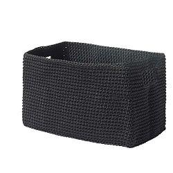 Černý košík Zone Confetti, 14 x22cm