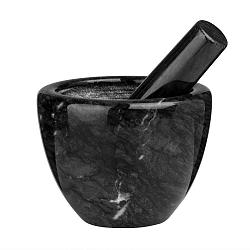 Černý mramorový hmoždíř Premier Housewares Marble
