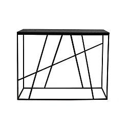 Černý odkládací stolek Canett Coster