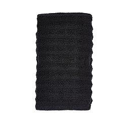 Černý ručník Zone One, 50x100cm