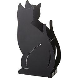 Černý stojan na deštníky YAMAZAKI Cat